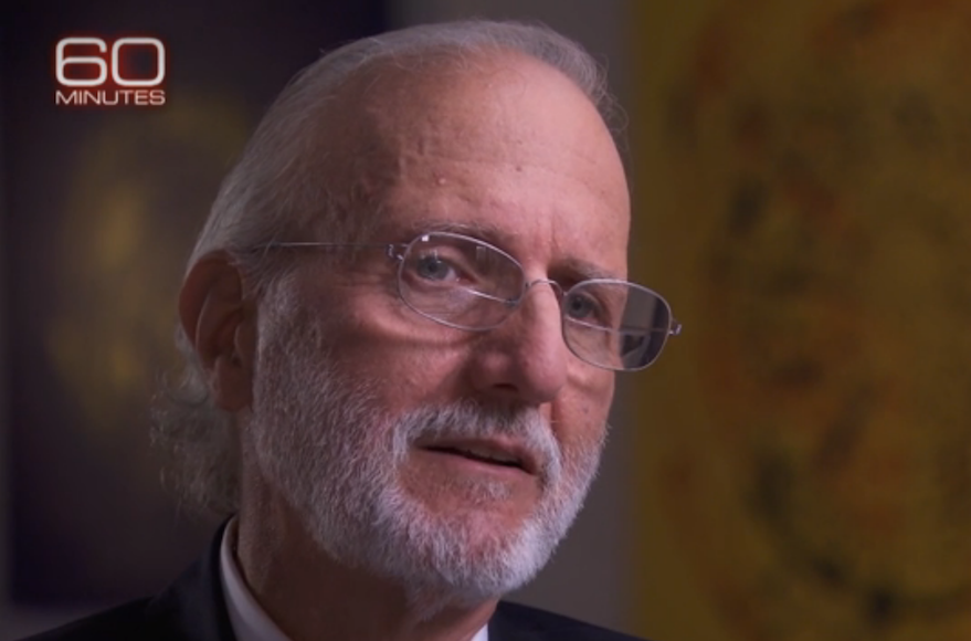 "Allan Gross speaking in a preview of an interview with ""60 Minutes,"" Nov. 27, 2016. (Screenshot from CBS)"
