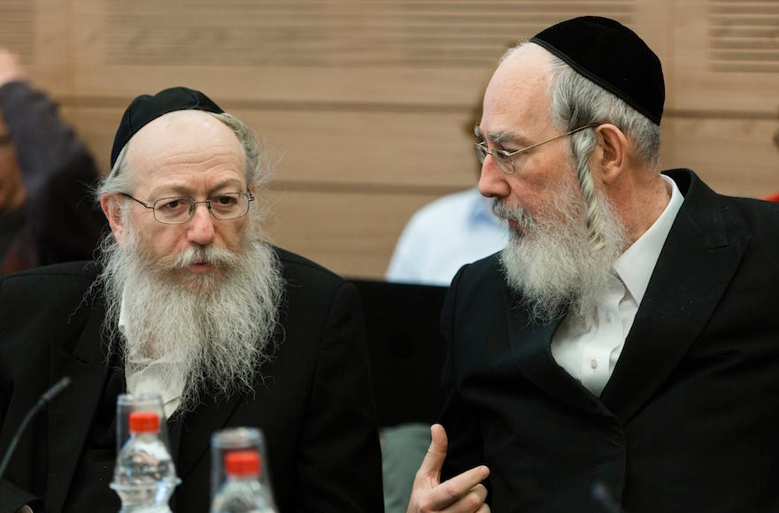 Haredi Jews In Israel: Haredi Knesset Member: Reform Jews Destroying Judaism