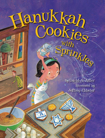 """Hanukkah Cookies with Sprinkles"" (Courtesy of Behrman House)"