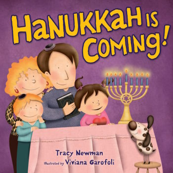 """Hanukkah is Coming!"" (Courtesy of Kar-Ben Books)"
