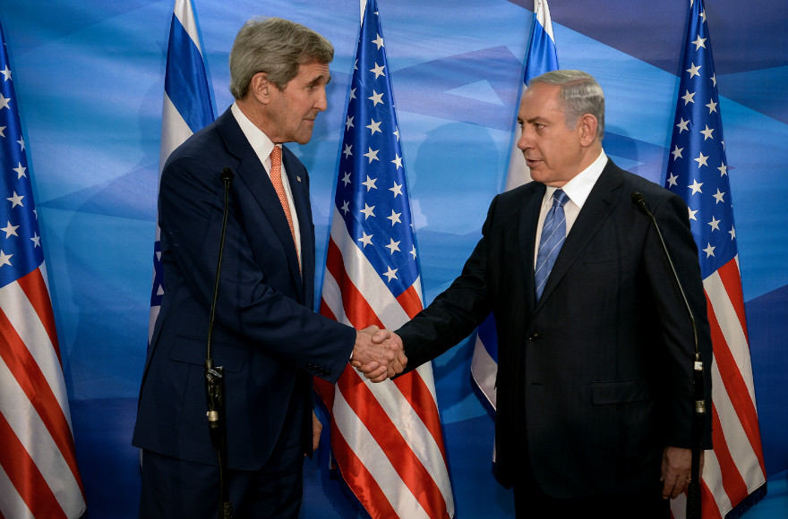 Kerry-Netanyahu in Jerusalem 11.24.2015
