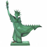 Menorah Statue of Liberty 25513