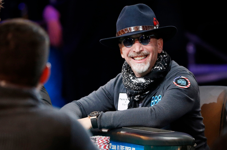 Neil Blumenfield competing at the World Series of Poker in Las Vegas, Nov. 8
