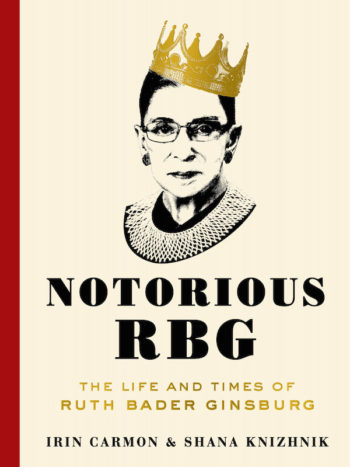 "The cover of ""Notorious RBG: The Life and Times of Ruth Bader Ginsburg."" (HarperCollins)"