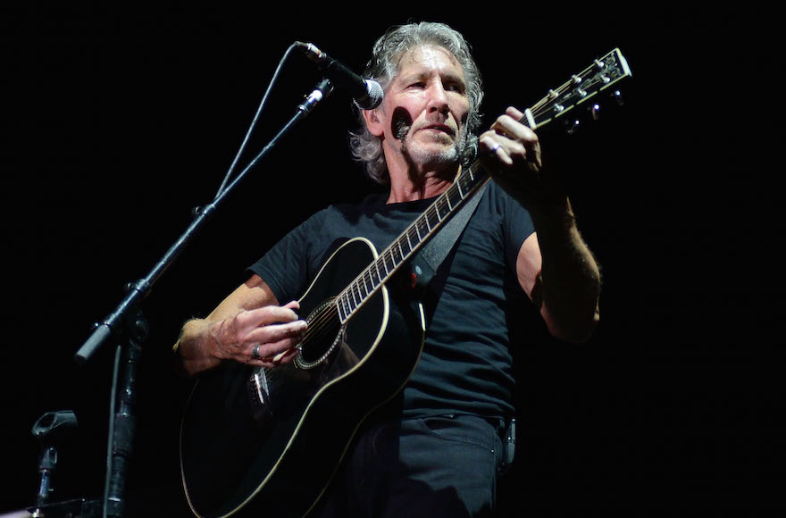 Roger Waters performing at Yankee Stadium in New York City, July 6, 2012. (Jason Kempin/Getty Images)
