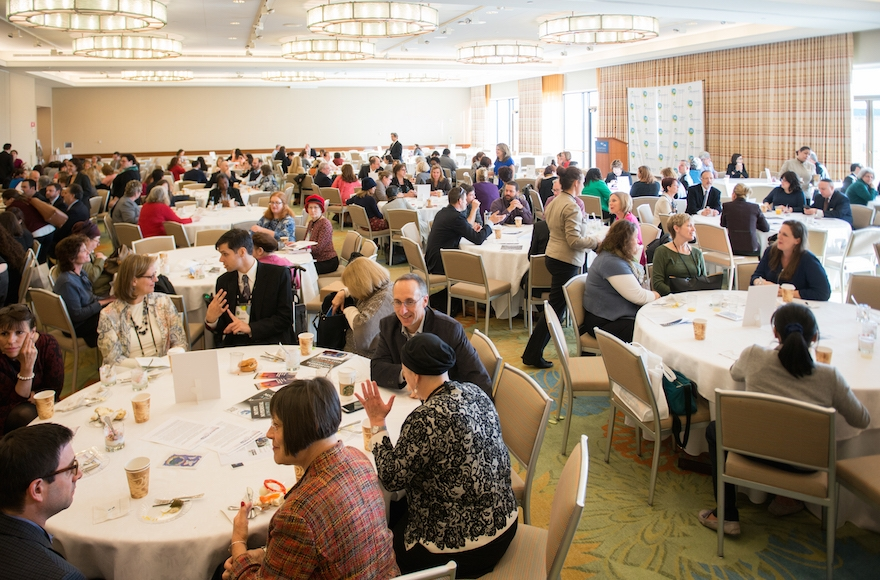 The Ruderman Foundation Inclusion Summit took place on Nov. 1 and 2 at Boston's World Trade Center. (Noam Galai)