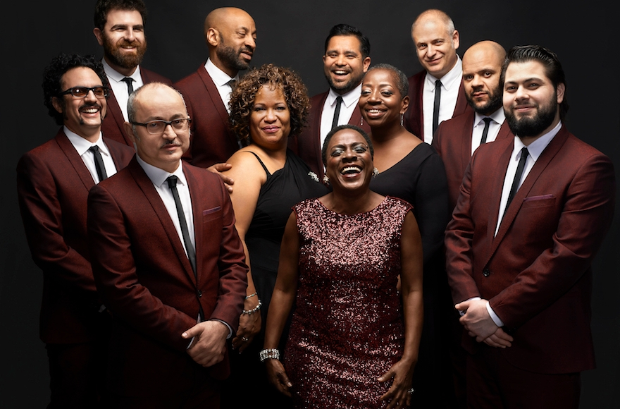 Soul group Sharon Jones and the Dap Kings has released perhaps the funkiest Hanukkah song of all time. (Courtesy of Daptone Records)