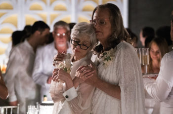 "Jeffrey Tambor, right, with Judith Light in the second season of ""Transparent."" (Courtesy of Amazon Studios)"