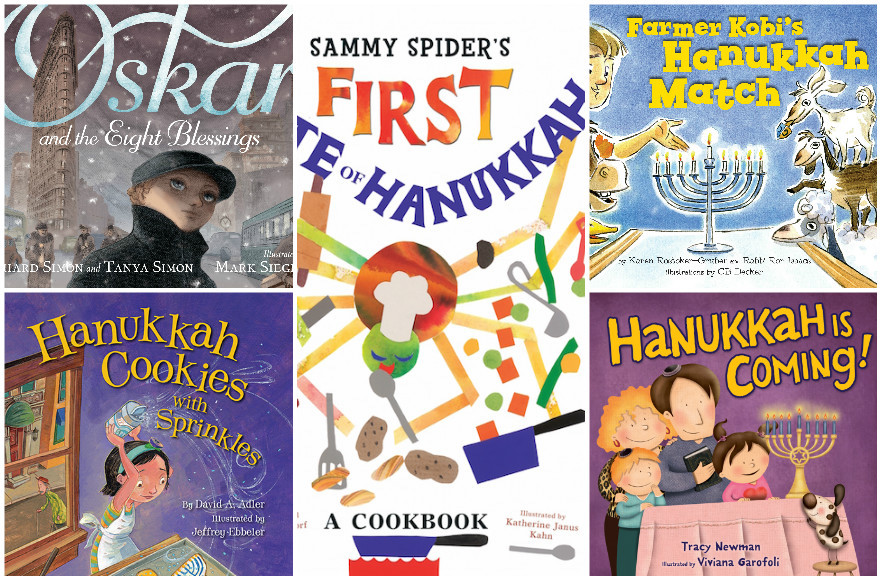 A sampling of this year's crop of new Hanukkah books for kids.