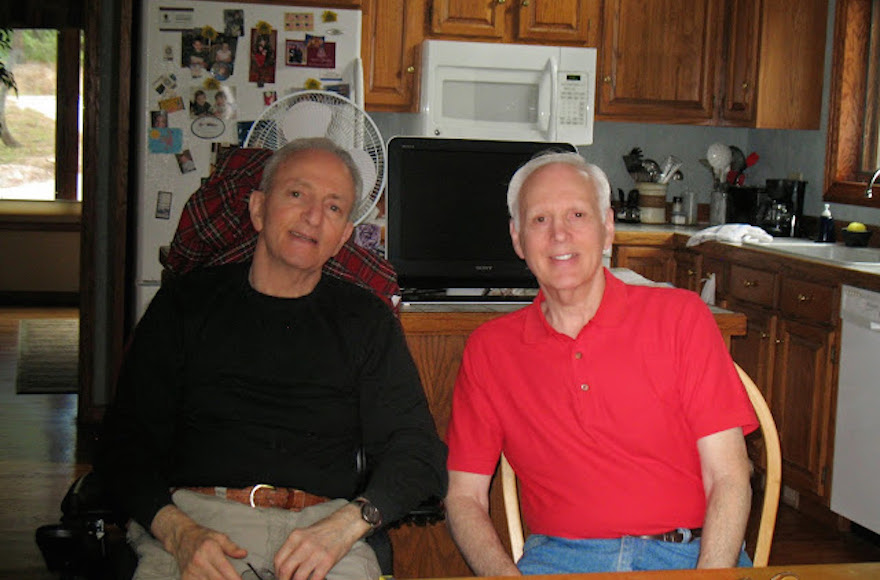 David Epstein, left, and his brother, Howard Epstein, both have APBD, which is more prevalent among Ashkenazi Jews than in the general public. (Courtesy of David Epstein)