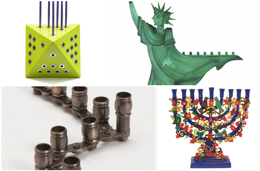 menorah_collage