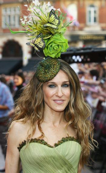 "Sarah Jessica Parker attending the premiere of the ""Sex and the City"" film in London, May 12, 2008. (Gareth Cattermole/Getty Images)"