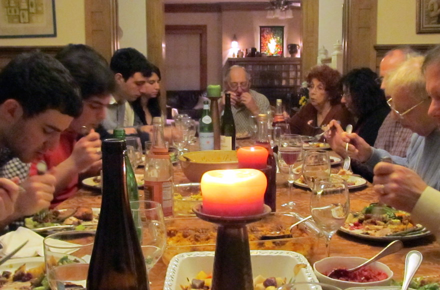 Thanksgiving At The Authors House Just Because Meal Is Largely A Secular One For