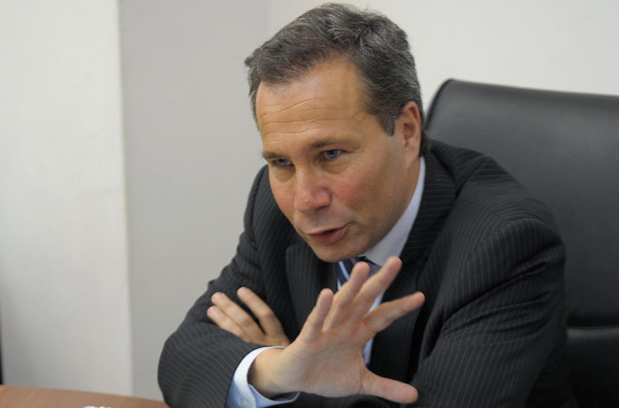 Alberto Nisman at a news conference in Buenos Aires, May 20, 2009. (Juan Mabromata/AFP/Getty Images)