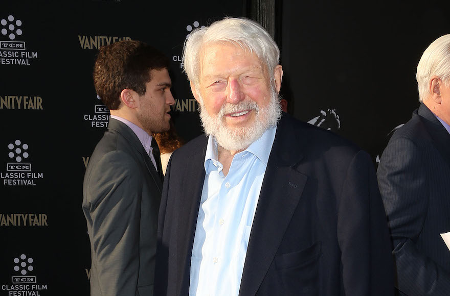 Theodore Bikel attending a film festival in Hollywood, California, April 25, 2013. (Frederick M. Brown/Getty Images)