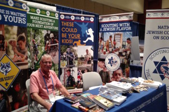 Bruce Chudacoff at the URJ biennial conference. (Courtesy of Bruce Chudacoff)