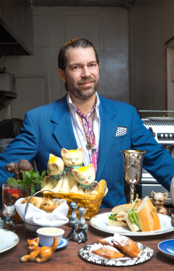 Richard Kimmel, the owner of Jewish-soul food venues Kitty's Canteen and Kitty's-a-Go-Go in Manhattan. (Courtesy of Richard Kimmel)
