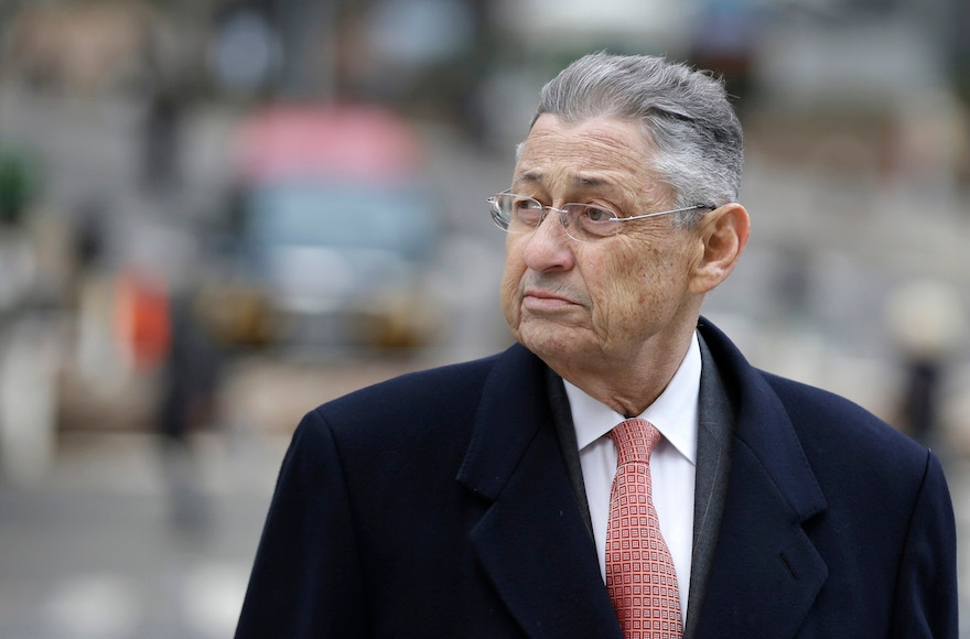 Former New York Assembly Speaker Sheldon Silver arriving at the courthouse in New York, Nov. 24, 2015. (Seth Wenig/AP Images)