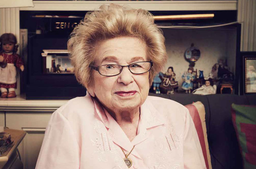 Ruth Westheimer reflected on her Holocaust experience to The Hollywood Reporter in a landmark feature. (The Hollywood Reporter)