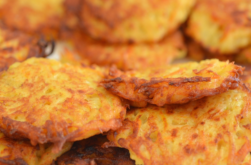 ... the magic of latkes fox news family dinner sweet potato latkes fyi