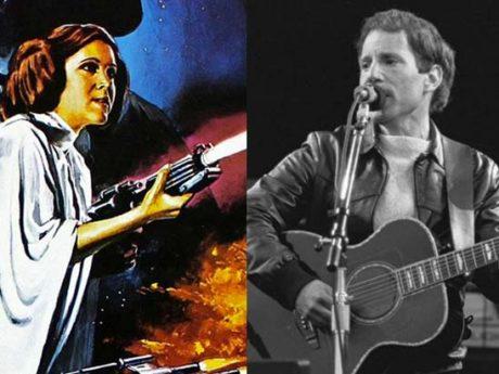 That Time Princess Leia Married Paul Simon