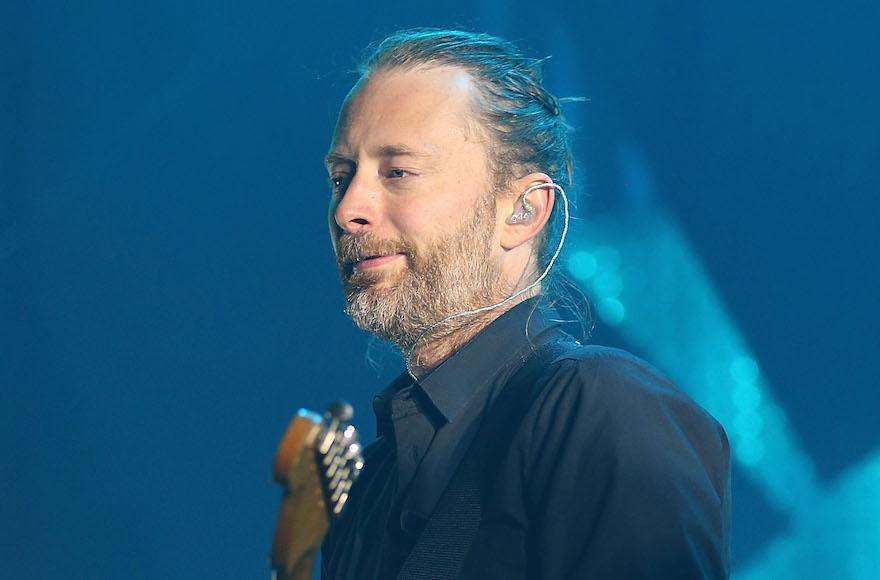 Radiohead singer Thom ...