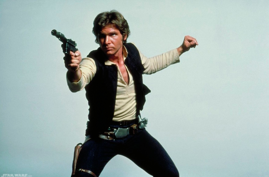 Harrison Ford as Hans Solo. (Flickr Commons)