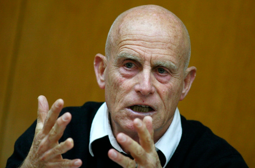 Ami Ayalon attending a committee meeting at the Knesset, Feb. 18, 2008. (Olivier Fitoussi /Flash90)