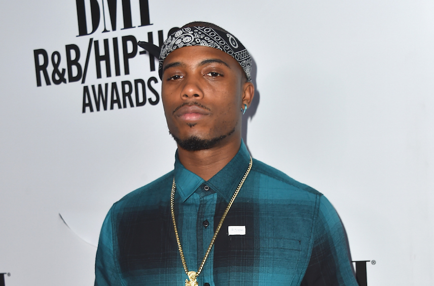 Rapper B.o.B.  at the 2015 BMI R&B/Hip Hop Awards in Beverly Hills, California, Aug. 28, 2015. (Alberto E. Rodriguez/Getty Images)