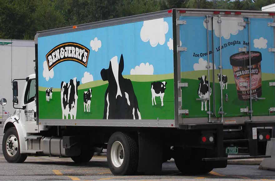 A Ben & Jerry's truck (Wikimedia Commons)