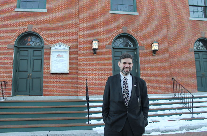 Once Orthodox, eclectic rabbi finds Conservative home in New Hampshire