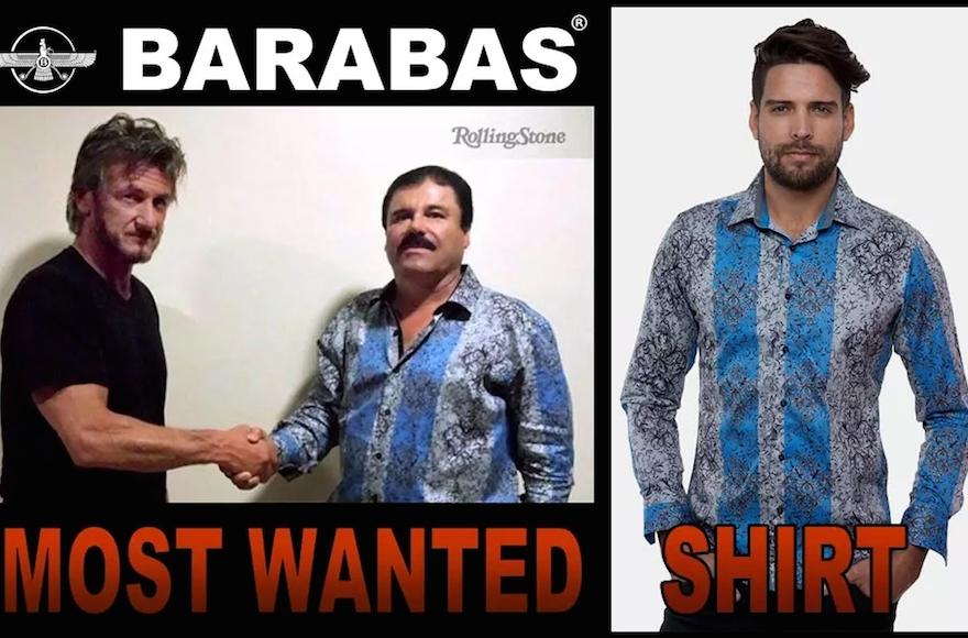 The Barbaras advertisement (Screenshot from Barbaras' website)