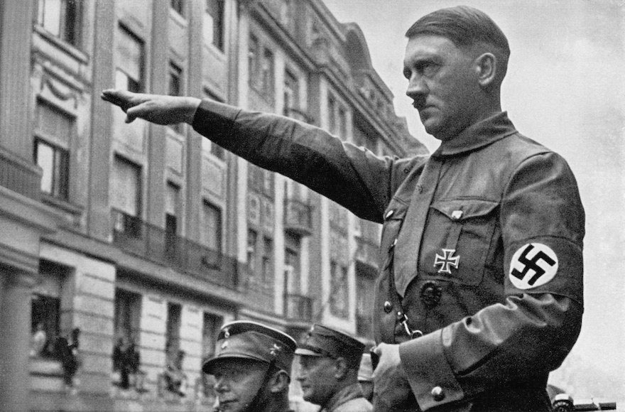 Adolf Hitler in Munich in the spring of 1932. (Heinrich Hoffmann/Archive Photos/Getty Images)