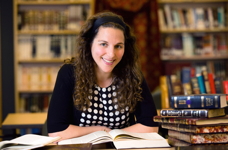 "Lila Kagedan is the first Yeshivat Maharat graduate to go by the title ""rabbi."" (Courtesy of Yeshivat Maharat)"