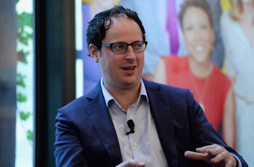 Nate Silver speaking onstage at the ABC Leadership Breakfast panel during Advertising Week 2015 AWXII at the Bryant Park Grill in New York, Sept. 28, 2015. (Slaven Vlasic/Getty Images for AWXII)