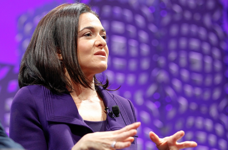 Sheryl Sandberg speaking on a panel at the Fortune Global Forum at the Fairmont Hotel in San Francisco, California, Nov. 3, 2015. (Kimberly White/Getty Images for Fortune)