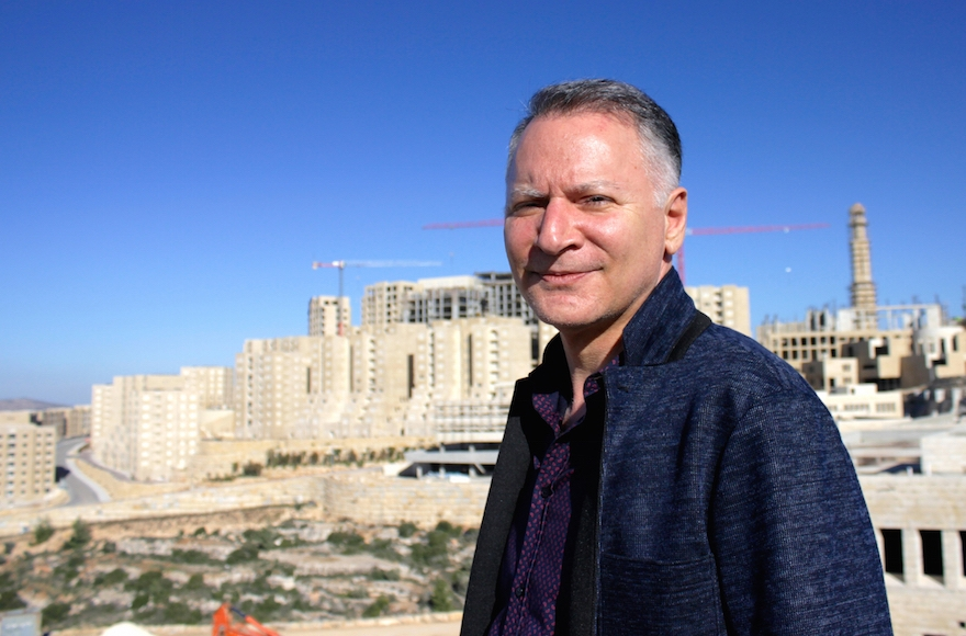 Bashar Masri is the developer behind Rawabi, the first planned Palestinian city. (Yardena Schwartz)