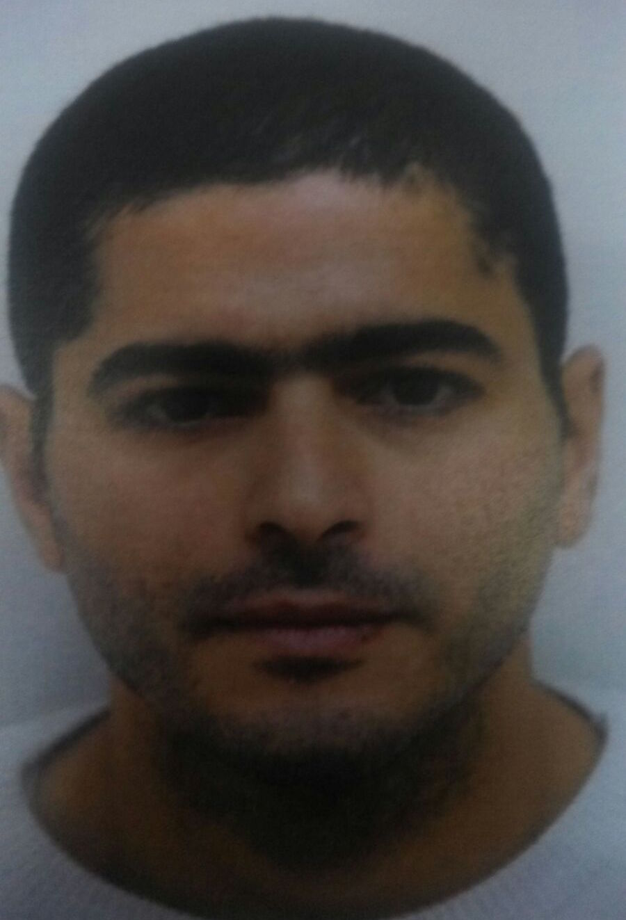 Nashat Milhem is accused of killing two people in central Tel Aviv on Friday. (Israel Police)