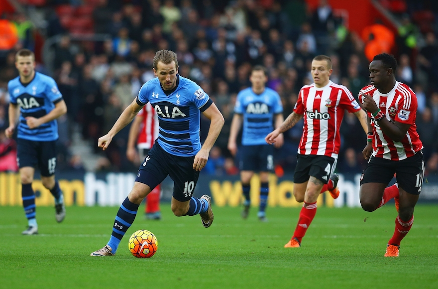 A scene from the match between Southampton F.C. and Tottenham Hotspur in Southampton, England, Dec. 19, 2015. (Charlie Crowhurst/Getty Images)