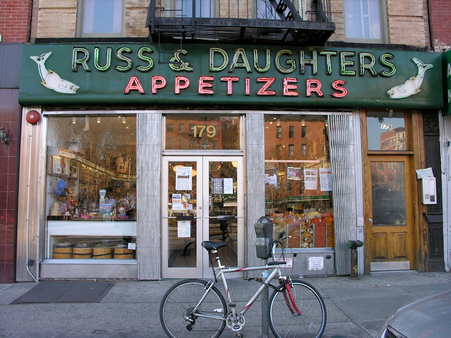 Russ & Daughters' Houston Street shop has been operating since 1920. (Flickr)