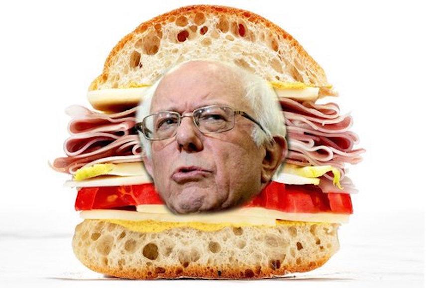 A Bernie Sandwhich (Twitter)