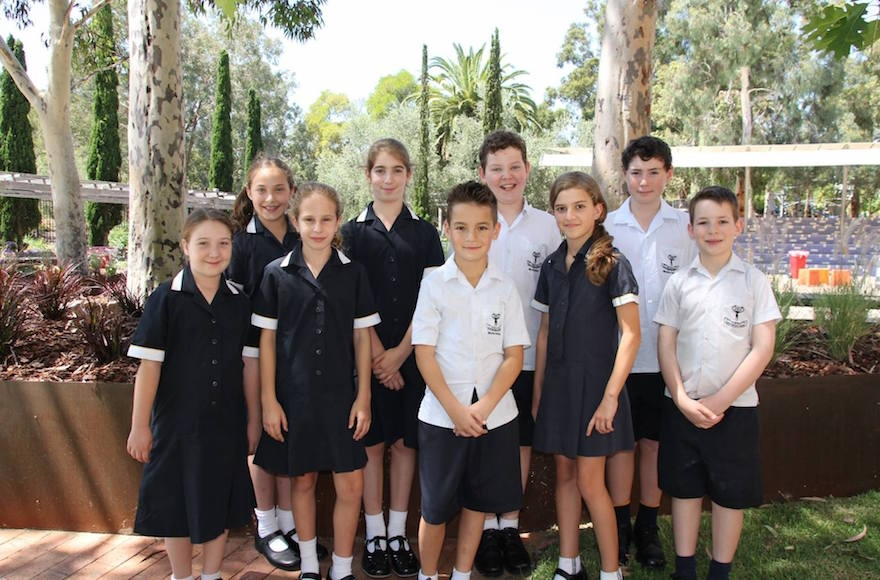 Students at Bialik College (Facebook)
