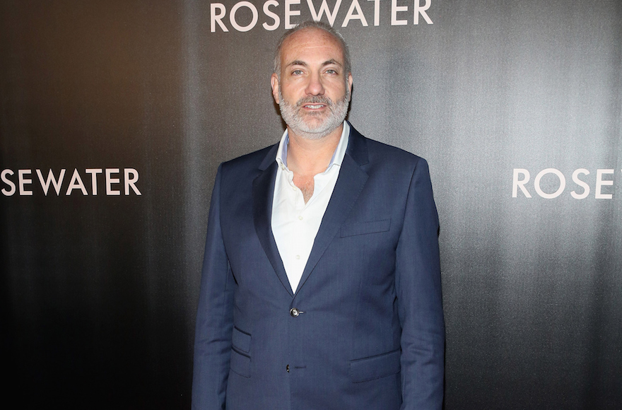 "Kim Bodnia at the New York City premier of the film ""Rosewater,"" Nov. 12, 2014. (Robin Marchant/Getty Images)"