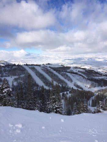 Park City Mountain in Utah, where America's only kosher slopeside restaurant is located, is also the nation's largest ski area, at 7,300 acres. (Uriel Heilman)