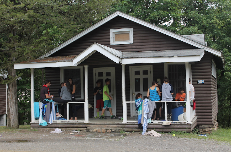 More than 750 campers and 300 counselors went to Camp Ramah in the Berkshires in the summer of 2015. (Uriel Heilman)