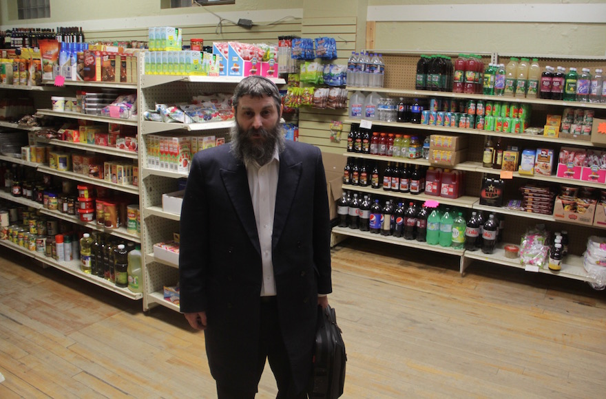 Postville, Iowa's Chabad emissary Aron Schimmel says that the town's Jewish community shrunk significantly in size after the Rubashkin scandal. (Jake Tapper)