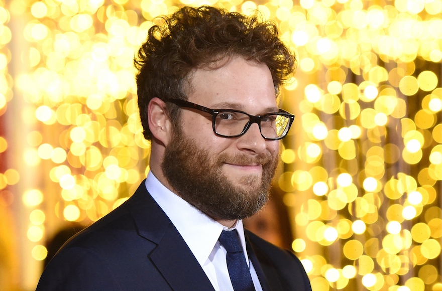 Seth Rogen attending the premiere of 'The Night Before' in Los Angeles, California, Nov. 18, 2015. (Jason Merritt/Getty Images)