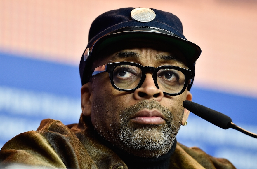 Spike Lee attending the 'Chi-Raq' press conference during the 66th Berlinale International Film Festival Berlin at Grand Hyatt Hotel in Berlin, Germany, Feb. 16, 2016. (Pascal Le Segretain/Getty Images)