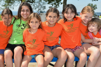 Enjoying Brooklyn's beautiful outdoors at the Kings Bay Y's Summer Camp. (Courtesy of the Kings Bay Y)