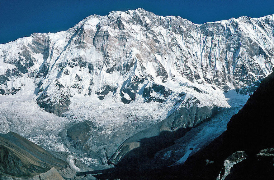 The Annapurna I peak in the Himalayas. (Wikimedia Commons)